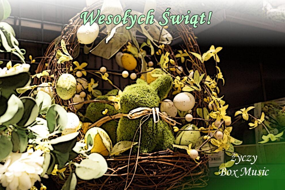 Zdrowych, radosnych Świąt Wielkanocnych!